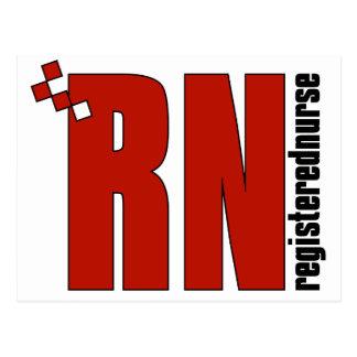 Registered Nurse RN Postcard