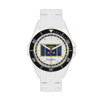 Registered Nurse RN Wrist Watch