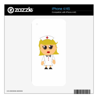 Registered Nurse Skin For The iPhone 4S