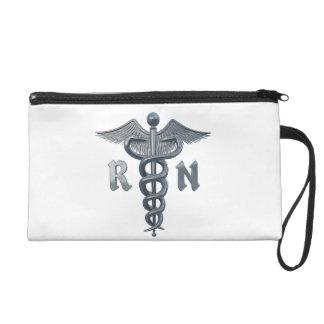 Registered Nurse Symbol Wristlet