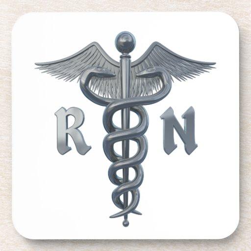 Registered Nurse Symbol Coaster