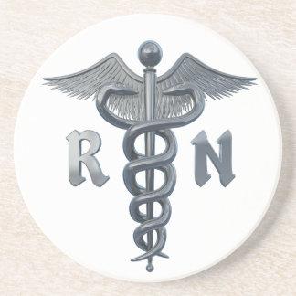 Registered Nurse Symbol Coasters