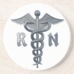 Registered Nurse Symbol Drink Coasters