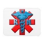 Registered Nurse Symbol Magnet