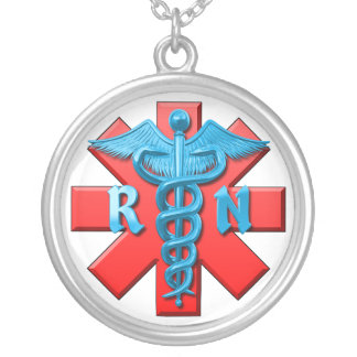 Registered Nurse Symbol Necklaces