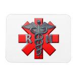 Registered Nurse Symbol Rectangular Magnets