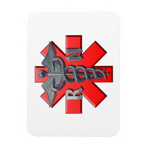 Registered Nurse Symbol Rectangular Photo Magnet