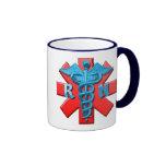 Registered Nurse Symbol Ringer Mug