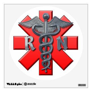 Registered Nurse Symbol Wall Decor
