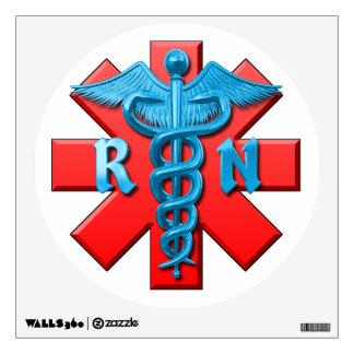 Registered Nurse Symbol Wall Decal