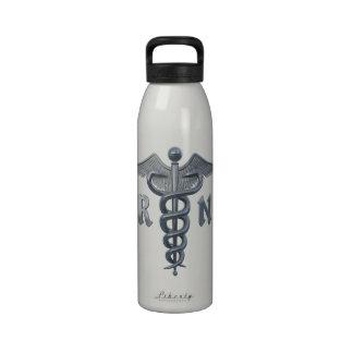 Registered Nurse Symbol Drinking Bottle