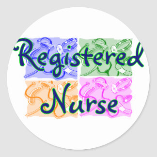 Registered Nurse T-Shirts & Gifts--Unique items Classic Round Sticker