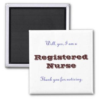 Registered Nurse Thank You Fridge Magnets