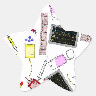 Registered Nurse Tools Star Sticker