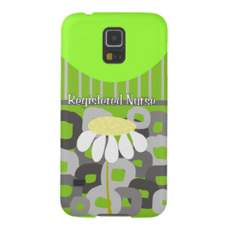 Registered Nurse Whimsical and Abstract Cases For Galaxy S5