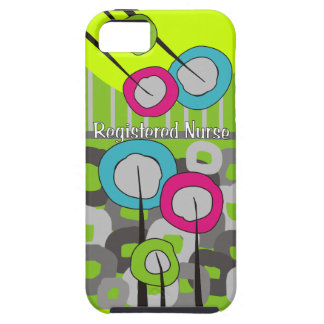 Registered Nurse Whimsical and Abstract iPhone SE/5/5s Case