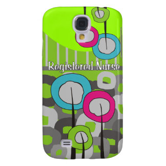 Registered Nurse Whimsical and Abstract Samsung Galaxy S4 Cover