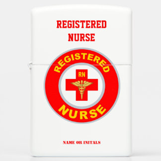 REGISTERED NURSE ZIPPO LIGHTER