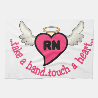 Registered Nurses Touch Hand Towel