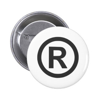 Registered Pinback Button