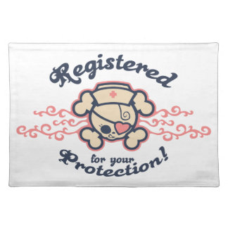 Registered Place Mat