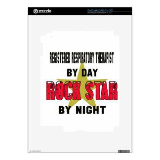 Registered Respiratory Therapist by Day rockstar b iPad 2 Skin