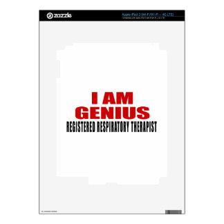 REGISTERED RESPIRATORY THERAPIST DESIGNS iPad 3 SKIN