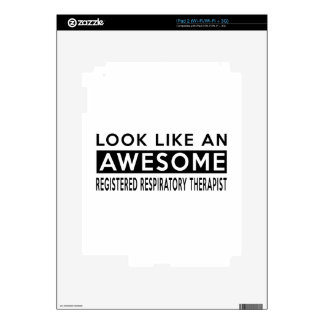 REGISTERED RESPIRATORY THERAPIST DESIGNS SKINS FOR iPad 2