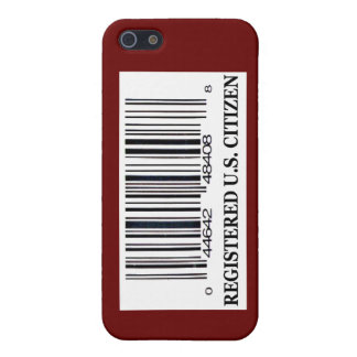 Registered U.S. Citizen Cover For iPhone SE/5/5s