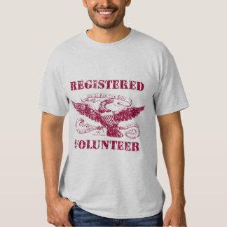 Registered Volunteer T-Shirt