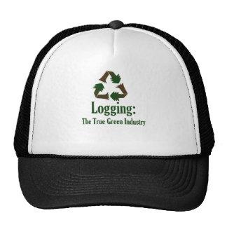 Registración: Industria verde Gorras