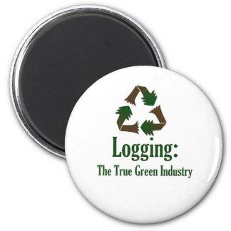 Registración: Industria verde Imán Redondo 5 Cm
