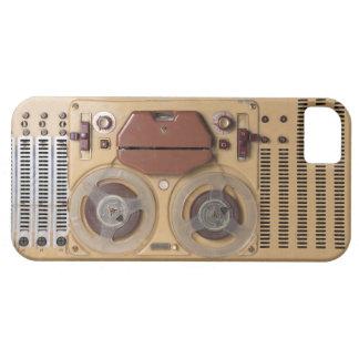 Registrador del vintage iPhone 5 carcasa