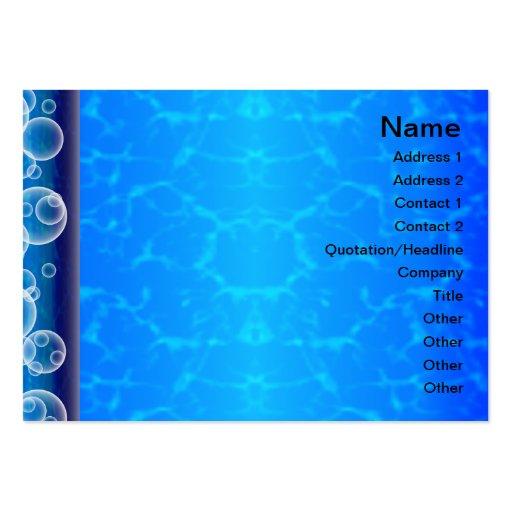 Registrador extranjero grande plantillas de tarjetas personales