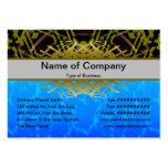 Registrador extranjero grande tarjeta de visita
