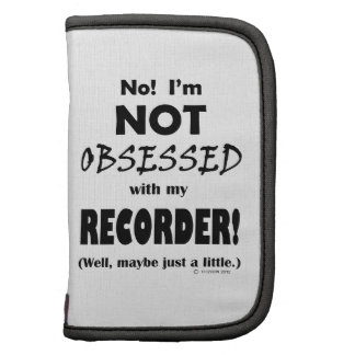 Registrador obsesionado organizadores