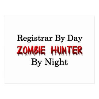 Registrar/Zombie Hunter Postcard