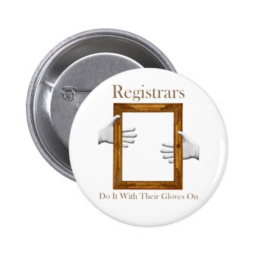 Registrars Do It With Their Gloves On Button