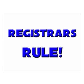 Registrars Rule! Postcard