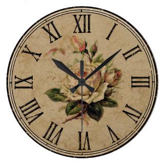 Registre alrededor de vintage que la mirada reloj redondo grande