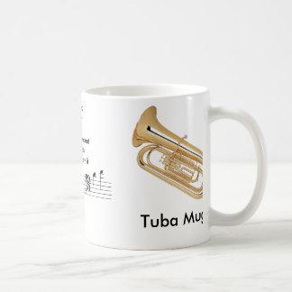 Registro. (11 onzas.) ¡Taza de la tuba para el mús