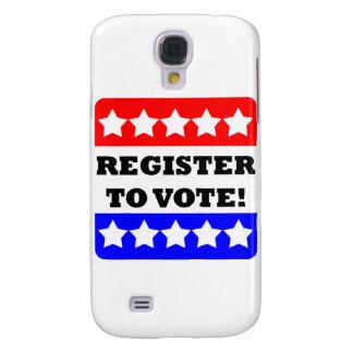 Registro al voto funda para galaxy s4