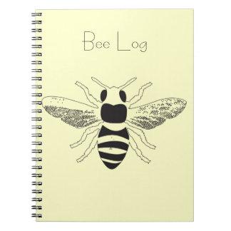 Registro de la abeja - el cuaderno de un apicultor