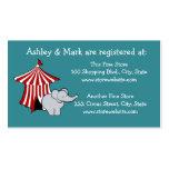 Registro de la fiesta de bienvenida al bebé del ci tarjetas de visita
