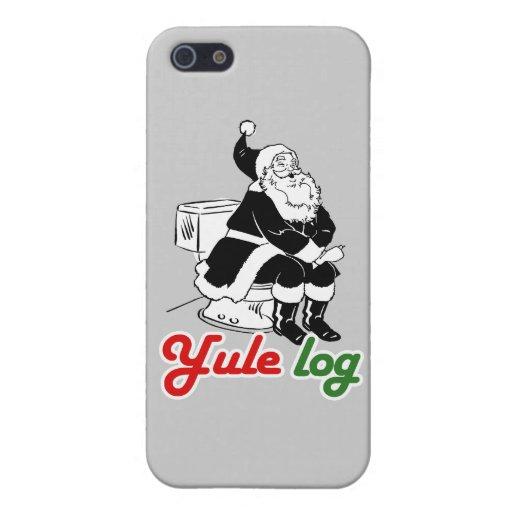 REGISTRO DE YULE - .PNG iPhone 5 CARCASA