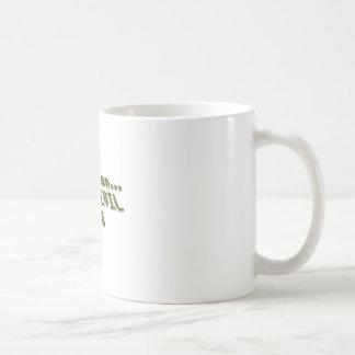 Registro del diablo taza de café