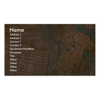 Registro, grano tarjetas de visita