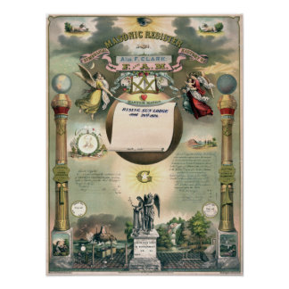 Registro masónico 1876 posters