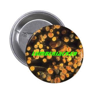 Registros que registran los regalos del leñador de pin redondo 5 cm