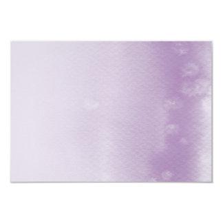 REGISTRY CARD :: ombre watercolor purple